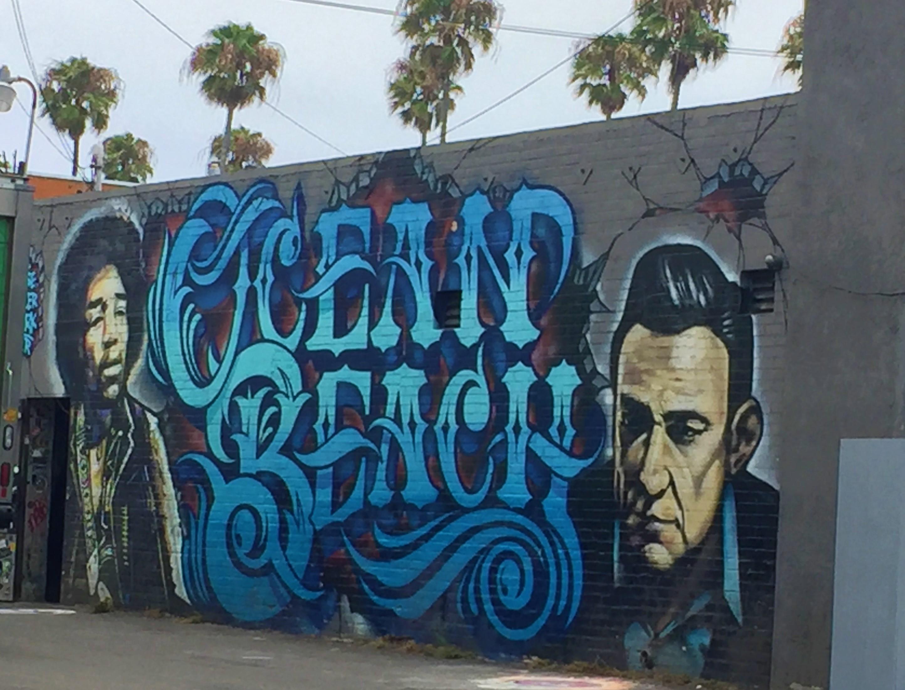 Ocean Beach Mural 1