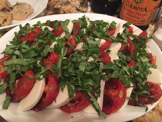 Roasted Tomato Caprese
